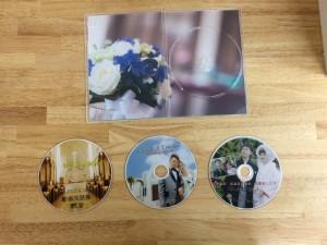 結婚式のDVDサンプル